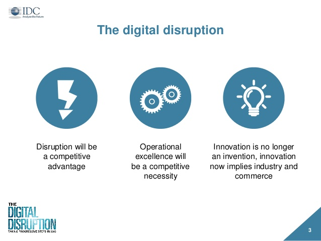 Digitally disrupted operations