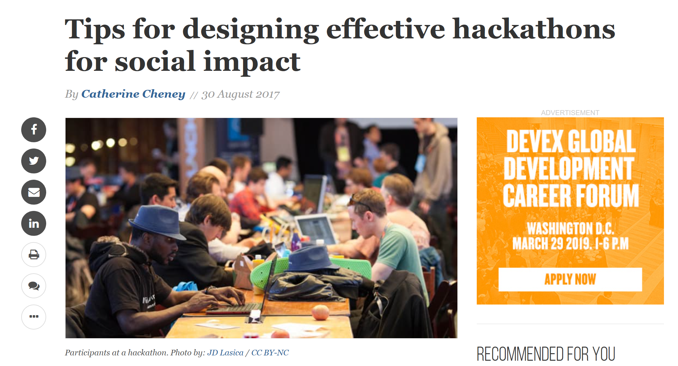 HackathonForSocialImpact